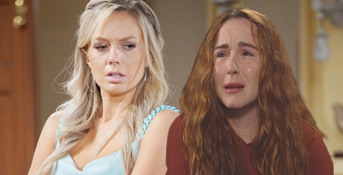Young and the Restless Abby and Mariah