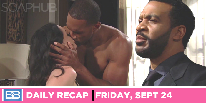 The Bold and the Beautiful recap for Friday, September 24, 2021