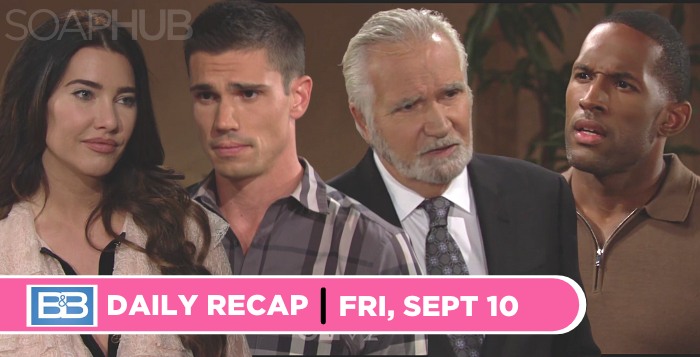 The Bold and the Beautiful recap for Friday, September 10, 2021