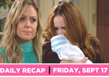 The Young and the Restless recap for Monday, September 17, 2021