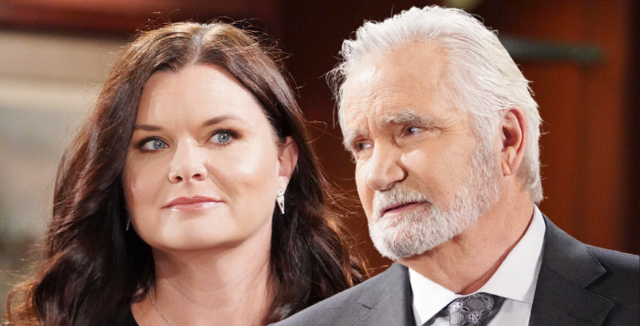 Katie Logan and Eric Forrester on The Bold and the Beautiful