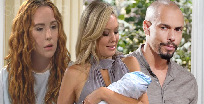 The Young and the Restless Baby Mama Name Drama Abby, Mariah and Devon