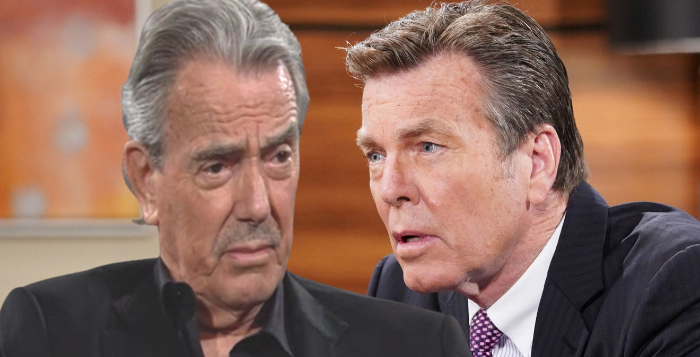 Victor Newman vs Jack Abbott on The Young and the Restless