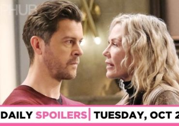 DAYS spoilers for Tuesday, October 26, 2021