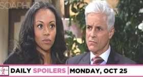 Y&R spoilers for Monday, October 25, 2021