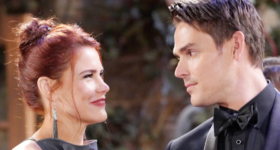 Adam Newman and Sally Spectra on The Young and the Restless
