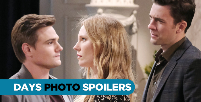 DAYS Spoilers Johnny DiMera, Abigail Deveraux, and Chad DiMera on Days of our Lives