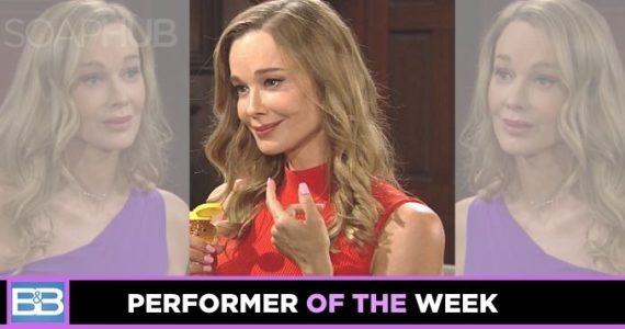 The Bold and the Beautiful Performer of the Week Jennifer Gareis on B&B