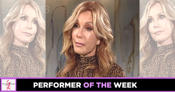 The Young and the Restless Performer of the Week Tracey Bregman