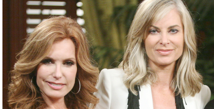 Y&R Eileen Davidson and Tracey Bregman on The Young and the Restless